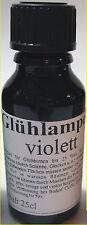 (227,60€/L) 25ml Glühlampen Tauchlack in Lila Lampenlack violett ab Großlager