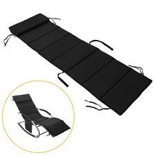 SoBuy® Schaukelstuhlkissen Kissenauflage für Gartenliege,schwarz, OGS28-P02