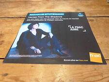NATHALIE STUTZMANN - HEROES FROM !! !FRENCH RECORD STORE PROMO ADV / DISPLAY!!