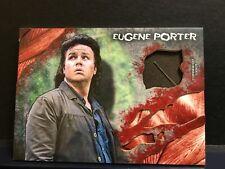 The Walking Dead Survival Box Eugene Porter J. McDermitt  Authentic Jacket Relic
