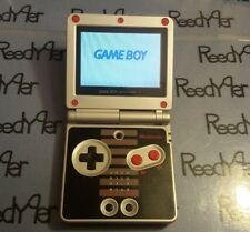 RED NES Classic Edition AGS-101 *MINT* GameBoy Advance SP Bright Nintendo System