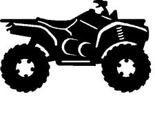 ATV quad four wheeler vinyl decal sticker