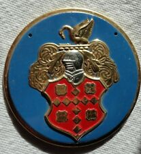 1950s Wheaties Cereal PACKARD Steel Metal Auto Car Emblem Badge Logo Premium