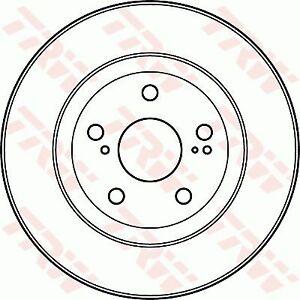 TRW Brake Rotor Front DF4828S fits Lexus ES ES300h (AVV60), ES350 (AVV50)