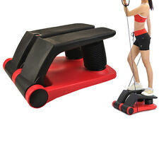 2016 New Air Stepper Climber Exercise Fitness Thigh Machine W/DVD Resistant Cord