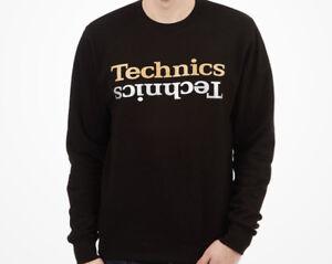 DMC DJ Technics Champion Edition Sweatshirt Jet Black (s/m/l/xl/xxl) NEW