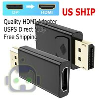 Display port to HDMI Displayport DP to HDMI Cabl Adapter video Port to hdmi cord
