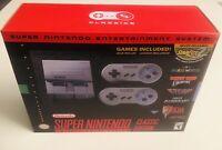 SNES Super Nintendo Classic Mini Super Entertainment System Console
