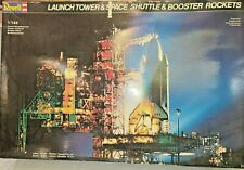 REVELL #4911 LAUNCH TOWER & SPACE SHUTTLE & BOOSTER ROCKETS 1/144 MODEL KIT