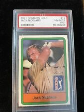 1981 Donruss Golf Jack Nicklaus PSA 8 (OC) #13 Rookie