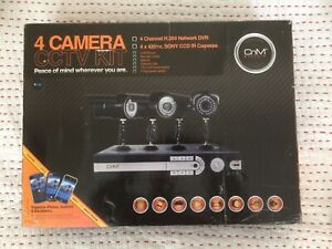CnM Secure 4 Sony camera CCTV Security kit, Pre-owned.