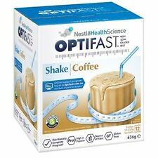 Optifast 53 gm *  72 Sachets Coffee Milkshakes ( 6 Boxes )