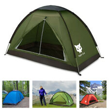 Single Man Tent for Backpacking Waterproof Hiking Camping Tents Fishing Heat
