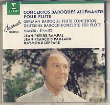 Molter, Stamitz - Rampal: German Baroque Flute Concertos (Erato) Like New
