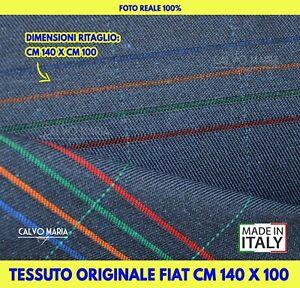 Tessuto per auto Fiat Panda 141 141A Tappezzeria Fodere interni auto sedili set
