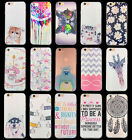 Fashion Pattern PC Plastic Hard Phone Case Cover For Iphone 6 6S PLUS 5 5S