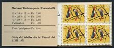 Switzerland #B402 - B404.  1971 Pro Juventute - Complete Booklet - 20 stamps