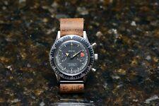 Croton Chronomaster Aviator Sea Diver 1960s Vintage Chronograph Swiss Mens Watch