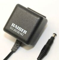 Kaiser CU 20/35 NC AC Adapter Power Supply Cable Charger Output 7.2 Volts 250mA