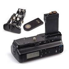 HOT Vertical Battery Grip Pack For Canon EOS 700D 650D 600D 550D T5i T4i T3i T2i