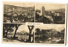Vintage Gruss aus Jena Germany Real Photo Postcard
