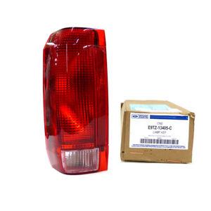 1990-1997 Ford F150 F250 F350 Bronco Left Driver Tail Light Lamp OEM E9TZ13405C
