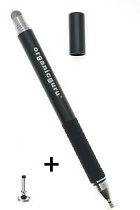 OrganicGuru® 2in 1 Micro Fiber And Fine Point Disc Touch Screen Fibre Stylus Pen