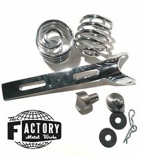 "Triumph Harley xs cb Bobber Chopper Solo Seat Mount 3"" Springs Weld on Bung Kit"