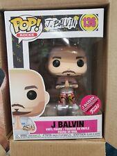 Funko Pop! Rocks J Balvin Blonde Limited Edition In Hand