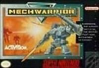 Mechwarrior - Super Nintendo SNES Game Authentic