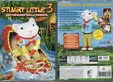 STUART LITTLE 3 - UN TOPOLINO NELLA FORESTA - DVD (NUOVO SIGILLATO)