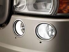 4 Anelli decorazione per Scania R CAMION ACCIAIO INOX ANTERIORE nebbia luci