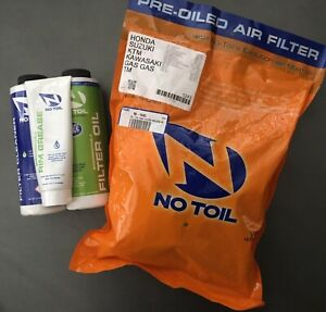 No Toil Filter + Oil/Cleaner/Rim Grease CR 125/250/500 1989-2001 & MORE 1243