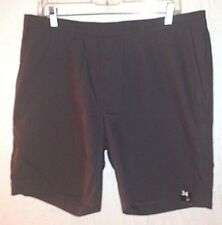 J. FERRAR dark gray flat front casual Shorts mens size 34 inseam 7.5 *  NEW TAGS