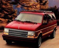 1990 Plymouth GRAND / VOYAGER VAN MiniVan Brochure: SE,LE,Turbo,Mini-Van