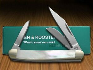 Hen & Rooster Small Stockman Knife Mother Of Pearl Pocket 303-MOP
