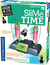 Slime Time clock Science Project Kit Geek & Co. Thames & Kosmos electrochemistry