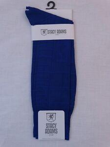 Men's Dress Socks Stacy Adams Solid Plain 21 Colors Size 6-12