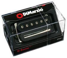 DiMarzio DP207 D-Sonic Humbucker Guitar BRIDGE Pickup, BLACK, Regular Spacing