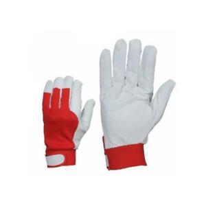 Arbeitshandschuhe Ziegenleder XL Lederhandschuhe Montagehandschuh Handschuhe