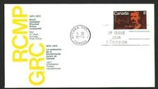 Canada    # 612    RCMP  CENTENARY     Brand New 1973 Unaddressed Cover