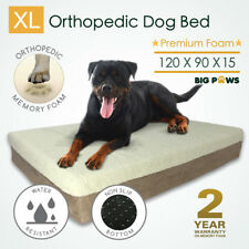 15cm Thick Extra Large 100 Memory Foam Dog Bed Orthopedic Waterproof