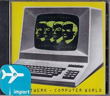 CD 7T KRAFTWERK COMPUTER WORLD DE 1988 IMPORT CANADA NEUF SCELLE