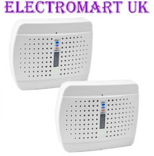 2 RECHARGEABLE CORDLESS PORTABLE MOISTURE ABSORBING DEHUMIDIFIERS HOME CARAVAN