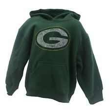 Green Bay Packers Official Nfl Apparel Youth Kids Distressed Size Sweatshirt New