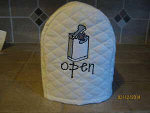 New Can Opener Appliance Cover, Choose Black, Red or Cream Color