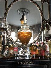 More details for huge cut glass vintage old comber irish whiskey dispenser rare