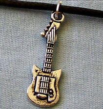 TIBETAN_SILVER  ~~  GUITAR  ~~  NECKLACE  --- (GREAT_GIFT)