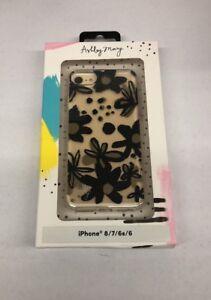 Ashley Mary iPhone 8/7/6s/6 Case - Ink Flowers Black