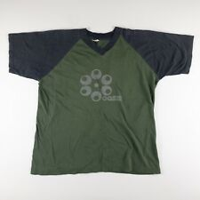 Vintage 2000 Oasis European Tour V Neck T Shirt Band